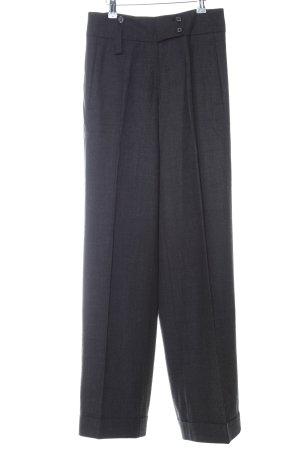 René Lezard Anzughose schwarz klassischer Stil