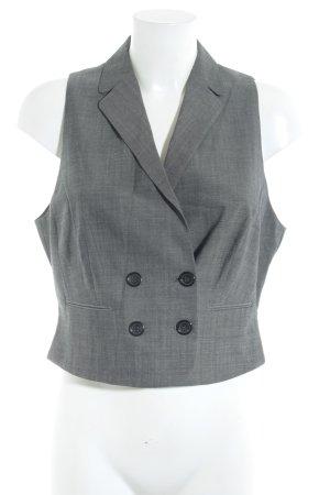 René Lezard Gilet de costume gris style d'affaires