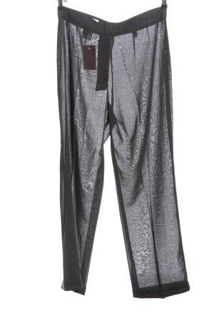 René Lezard Baggy Pants black casual look