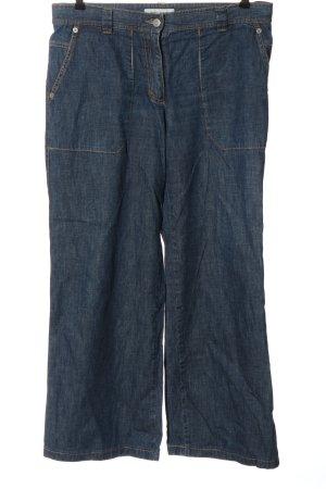 René Lezard Jeans baggy bleu style décontracté