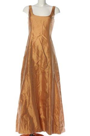 René Lezard Ball Dress light orange elegant
