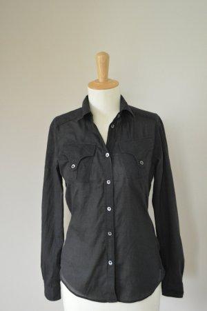 RENÈ LEZARD Bluse schwarz, Gr 36 / S