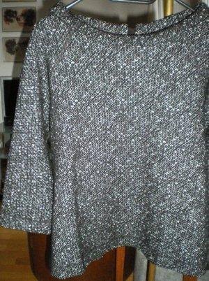 René Lezard, Bluse/Shirt, A-Linie, schwarz-weiß, Gr. 38