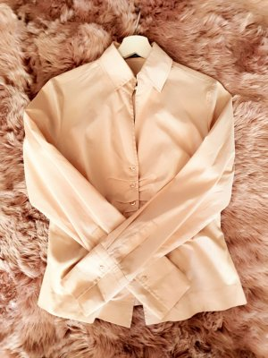 Rene Lezard Bluse Tunika Business Shirt creme 36