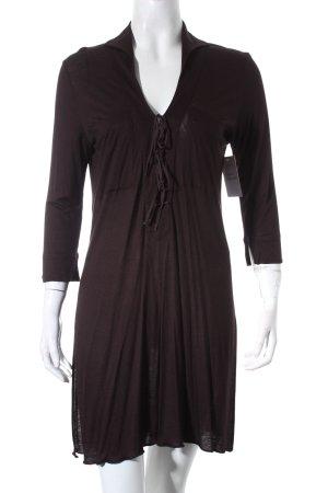 René Lezard Sukienka koszulowa brązowy W stylu casual