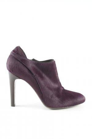 René Lezard Booties lila Casual-Look