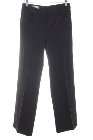René Lezard Pleated Trousers black business style