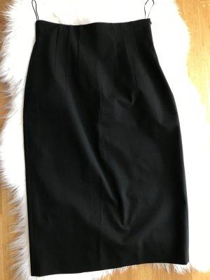 René Lezard High Waist Skirt black
