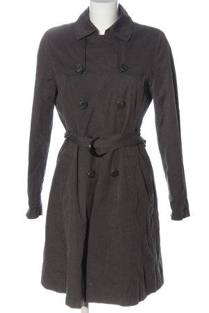René Lezard Heavy Pea Coat black casual look