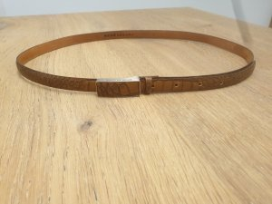 René Lezard Leather Belt cognac-coloured