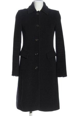 René Lezard Duffle-coat noir style décontracté