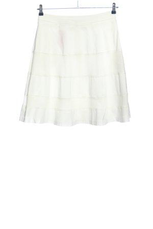 René Lezard Rozkloszowana spódnica biały W stylu casual