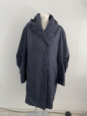 René Lezard Fleece Coats dark blue