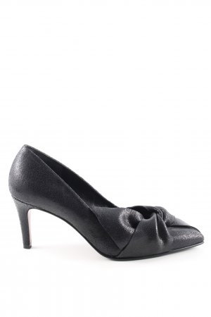 René Lezard High Heels schwarz Business-Look