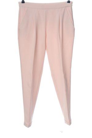 René Lezard Pantalone a vita alta rosa pallido stile casual