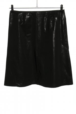 René Lezard High Waist Skirt black casual look