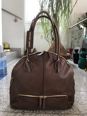 René Lezard Hobo-Bag/Shopper, Leder, extravagant, XXL