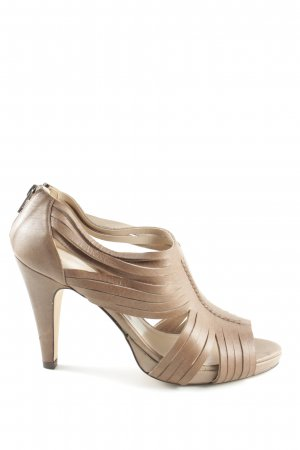 René Lezard Hochfront-Pumps nude Casual-Look