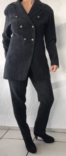 René Lezard Hosen-Anzug mit Longblazer /Gehrock Gr. 38