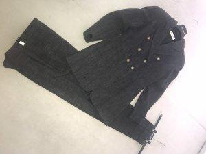 René Lezard Tailleur-pantalon gris anthracite-gris foncé