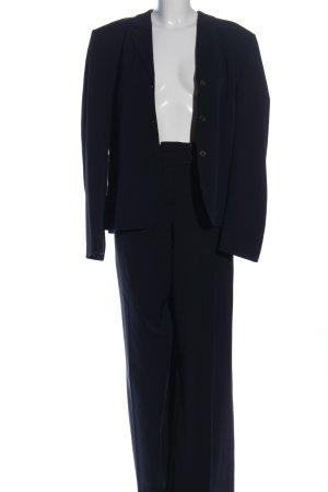 René Lezard Hosenanzug blau Business-Look
