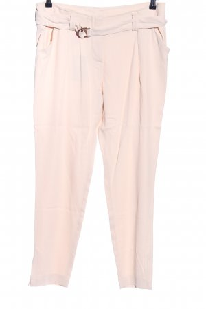 René Lezard Peg Top Trousers cream casual look