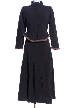 René Lezard Kostüm dunkelgrün Elegant