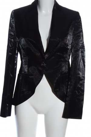 René Lezard Short Blazer black elegant