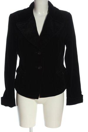 René Lezard Short Blazer black casual look