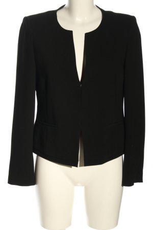 René Lezard Korte blazer zwart zakelijke stijl