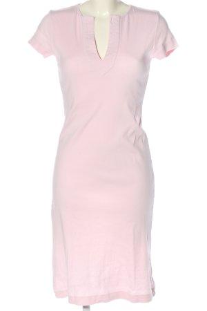 René Lezard Shortsleeve Dress pink casual look