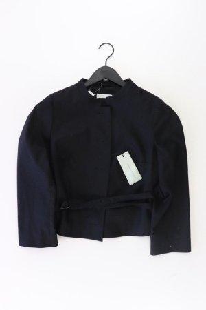 René Lezard Kurzjacke Größe 42 schwarz aus Wolle