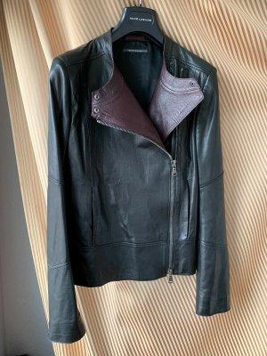 Rene Lezard Leder-Jacke gebraucht Leder Gr.38