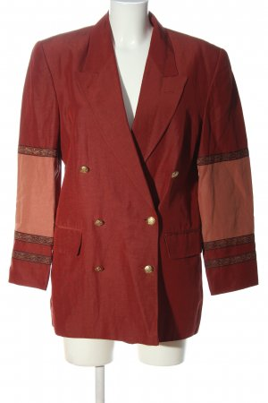 René Lezard Long-Blazer Streifenmuster Casual-Look