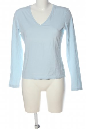 René Lezard Koszulka z długim rękawem niebieski W stylu casual