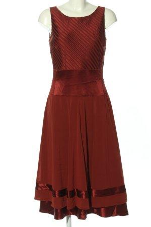 René Lezard Abendkleid rot Glanz-Optik