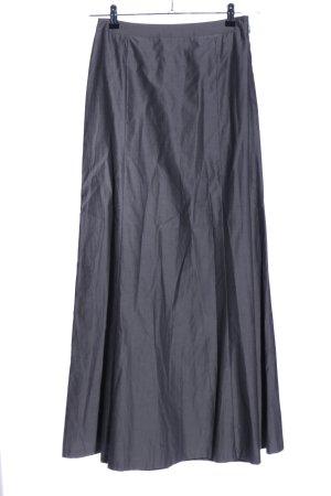 René Lezard Falda larga gris claro look casual