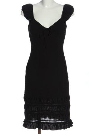 René Lezard Midi Dress black elegant