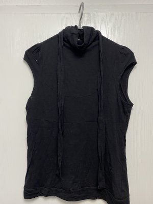 René Lezard Neckholder Top black