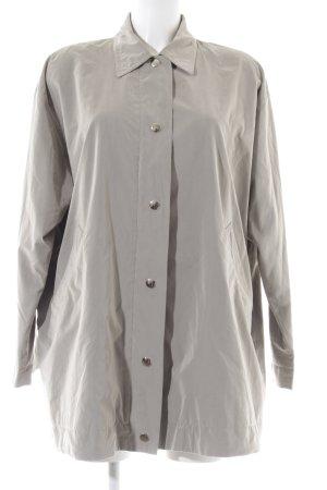 René Lezard Oversized Jacket light grey business style