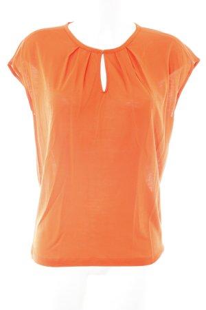 René Lezard Oversized Shirt neonorange extravaganter Stil