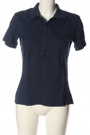 René Lezard Polo-Shirt blau Casual-Look