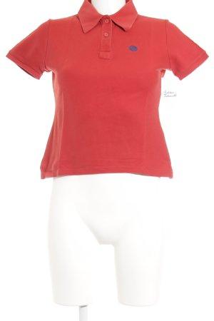 René Lezard Polo-Shirt rot Casual-Look