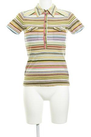 René Lezard Polo-Shirt Streifenmuster Segel-Look