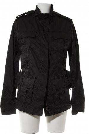 René Lezard Ripstop Jacket black casual look