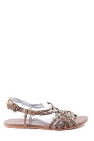 René Lezard Romeinse sandalen bruin casual uitstraling