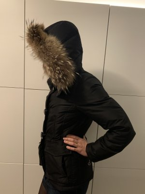 René Lezard Down Jacket black-light brown
