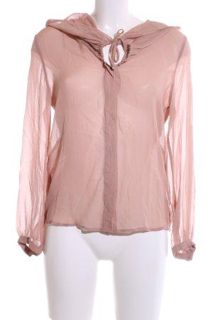 René Lezard Seidenbluse pink Elegant