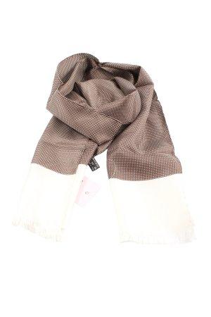 René Lezard Silk Cloth brown-white spot pattern casual look