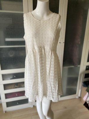 Rene Lezard Spitzen Kleid Gr 42
